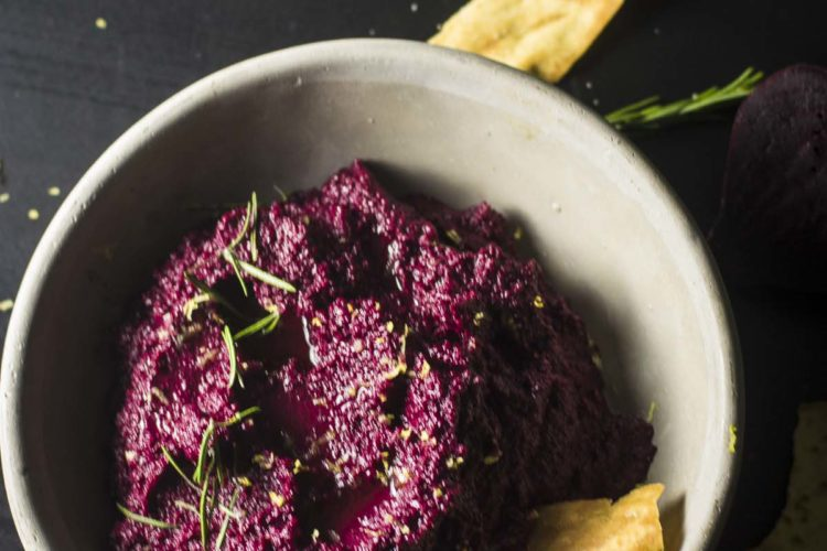 The Best Beet Hummus