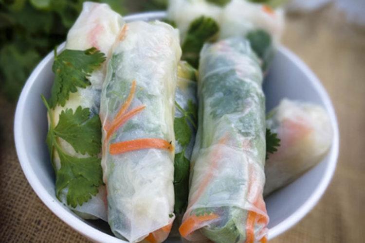 Vegan Vietnamese Spring Rolls