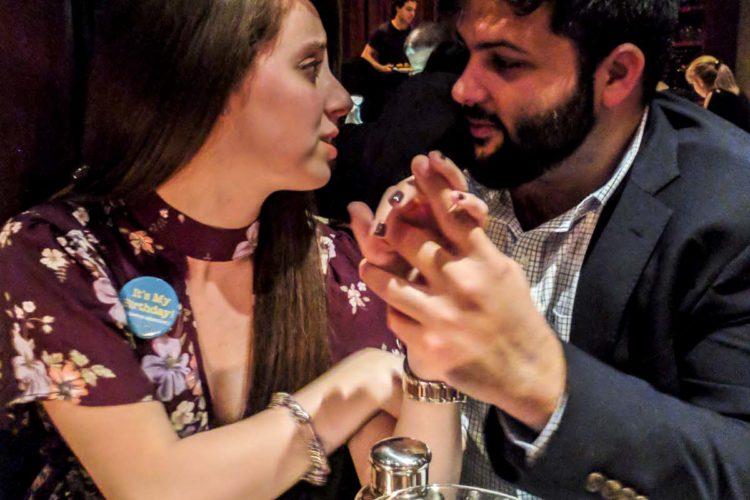 We got engaged!